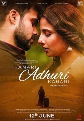 Hamari Adhuri Kahaani (2015) Hindi PDVD 700MB | 9xmovies | Bollywood Box Office | Scoop.it