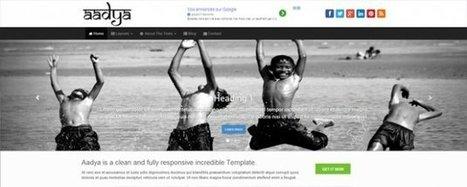 10 nouveaux thèmes wordpress gratuit à découvrir absolument - | webdesign web dev | Scoop.it