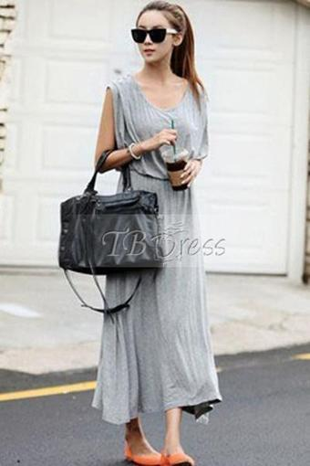 $ 23.99 Sexy Summer Backless Sleeveless Long Dress | peaceful lady | Scoop.it