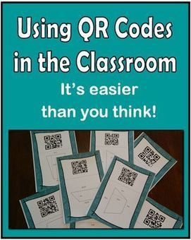 QR Codes in the classroom - easy, fun, and there is a freebie in this post! - Tech Week | QR Codes | Scoop.it