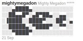 Twitter: Mighty Megadon | ASCII Art | Scoop.it