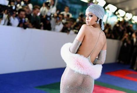 Rihanna Sexy Dress Fashion Icon CFDA Award | Women New Fashions | Scoop.it