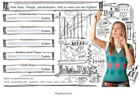 Digibord-Start.nl: handige zoekmachine voor digibordmateriaal « It's all in the Cloud! | Info Mediawijsheid leerkracht: Mediawijsheid PO | Scoop.it