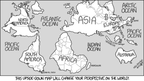 xkcd: Upside-Down Map | AP HUMAN GEOGRAPHY DIGITAL  STUDY: MIKE BUSARELLO | Scoop.it