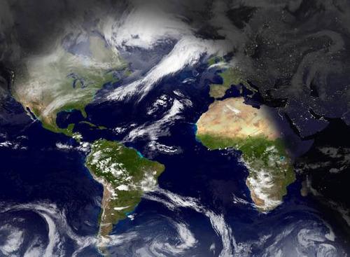 TOOL World Sunlight Map Dienet Glossarissimo - World sunlight map