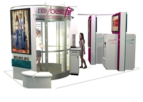 Full-Body Scan Kiosks Create Custom Shopping Lists - PSFK | Fashion Technology Designers & Startups | Scoop.it