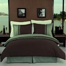 Green and Brown Bedding Sets | Bedroom Design Ideas | Scoop.it
