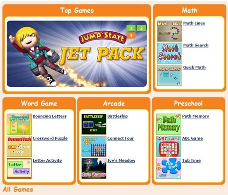 Educational Games – Free Kids Educational Games at Knowledge Adventure | Social e-learning network | Scoop.it