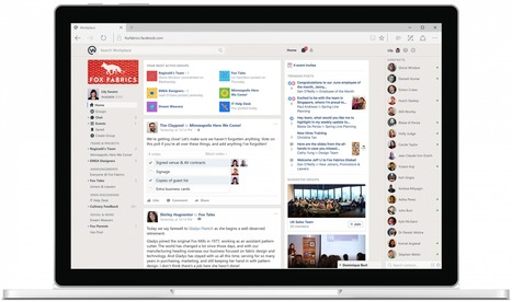 Facebook's Slack competitor, Workplace, is now available for any business to use | Mastering Facebook, Google+, Twitter | Scoop.it