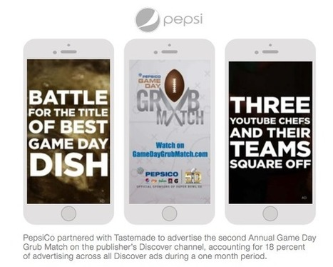 How Snapchat Discover Ads are Moving Closer to TV | Le Oueb c'est bien. | Scoop.it