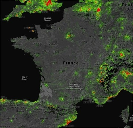 STRAVA Global Heatmap cartographie le monde grâce aux sportifs | Sport Digital | Scoop.it