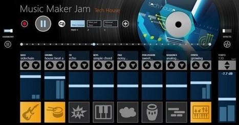 Music Maker Jam, creación de pistas musicales en Windows 8   DJ Juan Master   Scoop.it