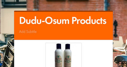 Use dudu-osum products to resolve skin issues | Natural body care store | Scoop.it
