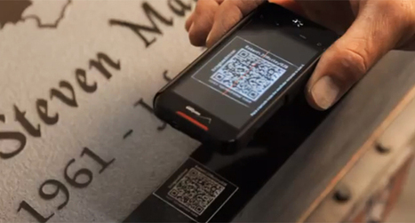 QR codes on your tombstone: how technology is changing death | memeburn | STYX | Scoop.it