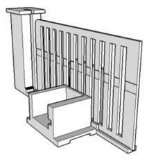 Version 2 - Une maquette de portillon fait maison piloté par Arduino... à imprimer en 3D   Fablabs_et_pedagogie   Scoop.it