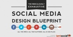 Infographic: Updated Master List of Social Media Image Sizes and Tips | Design, programming and SEO | Scoop.it