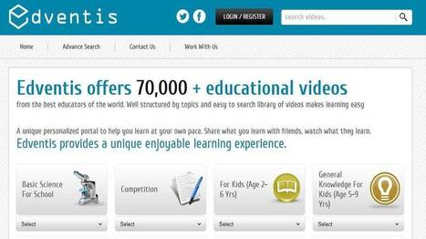 Edventis Brings 70,000+ Educational Videos and More for Students Worldwide - EdTechReview™ (ETR) | EdTechReview | Scoop.it