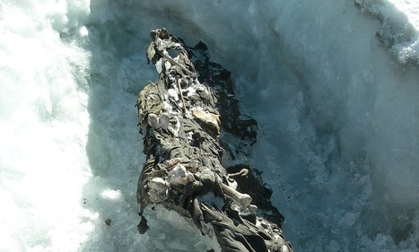Ice melt reveals bodies and weapons of White War Alpine dead | First World War History | Scoop.it