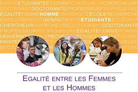 Egalité entre les Femmes et les Hommes : plan d'action du M.E.S.R. - ESR : enseignementsup-recherche.gouv.fr | Les Bons Plans Physique Chimie | Scoop.it