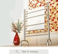 Solo SAFS-24 Freestanding Plug-In Towel Warmer by Amba Towel Warmers | Towel Warmers | Scoop.it