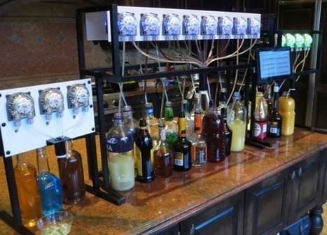 Bartendro, le robot barman | veille technologique sur la robotique | Scoop.it