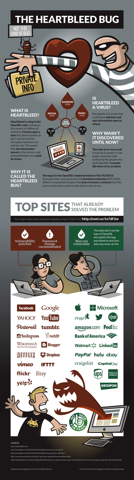 Qué es Heartbleed #infografia #infographic #internet | Aprendiendoaenseñar | Scoop.it