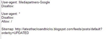 URLs Restricted By ROBOTS.TXT On My Blogspot Site   latest hacks and tricks   Scoop.it