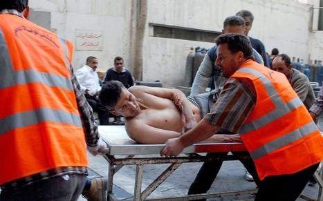 Syria crisis: Mosque car bomb 'kills 40' near Damascus - Telegraph   Syrian Crisis   Scoop.it