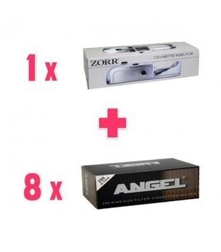 Promo 1 Riempitubetti Elettrica Zorr + 8 Box Tubetti Angel - NonSoloTabacco | Promozioni Fumatori | Scoop.it
