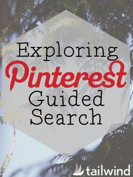 Exploring Pinterest's Guided Search - Tailwind Blog | Herramientas digitales | Scoop.it
