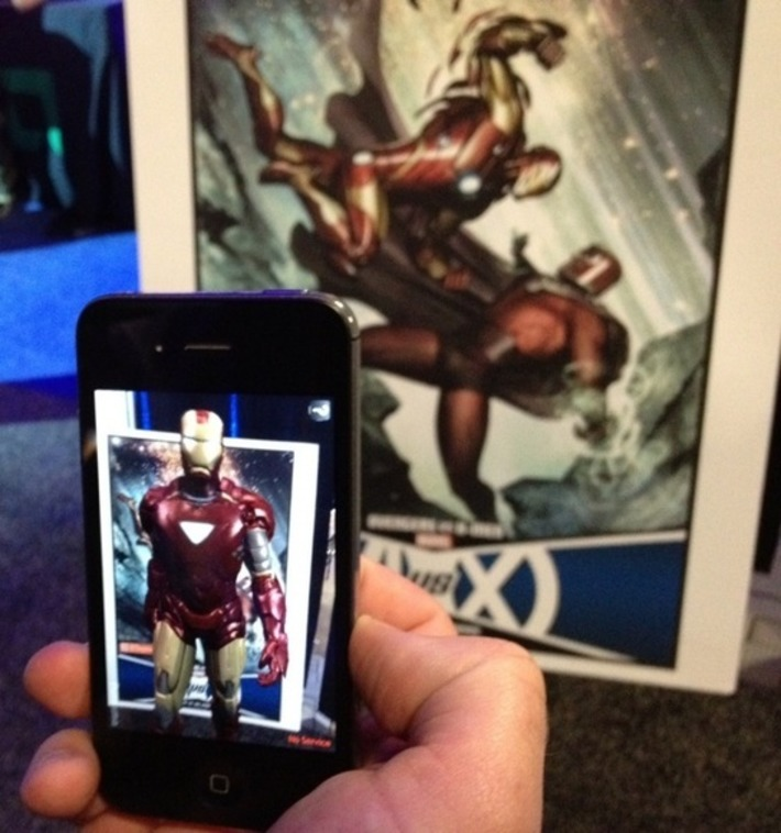 Marvel and Aurasma Show Off New Line Of Augmented Reality Comics | Machinimania | Scoop.it