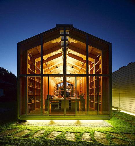 Decoración, diseño e interiorismo | Decoratrix » Vivienda y lugar de trabajo, en casas de madera | AteBur | Scoop.it