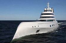 A Tour of Andrey Melnichenko's $300-million, Philippe Starck-Designed 'A' Yacht | Big Data | Scoop.it