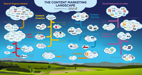 The Content Marketing Landscape Infographic | Content Amp | #ContentMarketing | Scoop.it