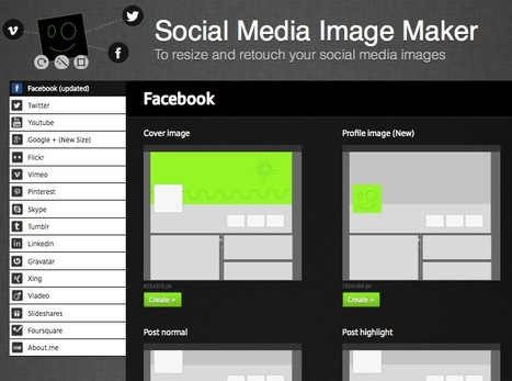 Curate Your Visual Appearance Across Social Media with the AP Social Media Image Maker | Responsive Framework | Scoop.it