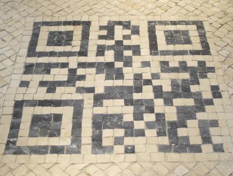 LisbonLux.com Lisbon Photos Blog | Blog de Fotografias de Lisboa » QR Code on Cobblestone | Photography CC | Scoop.it