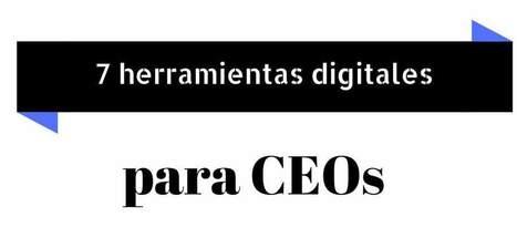 7 herramientas digitales que todo CEO necesita | Educacion, ecologia y TIC | Scoop.it