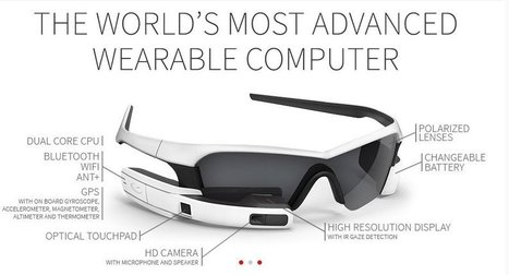 Recon Jet Sunglasses - HUD Display - Augmented Reality | HUD Display and Augmented Reality | Scoop.it
