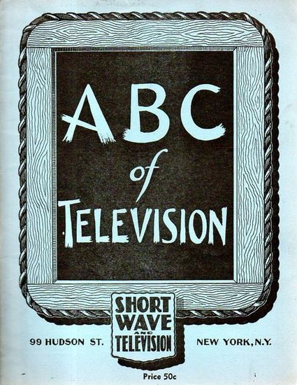 "JF Ptak Science Books: ""When Will We Have Television?"", 1937 