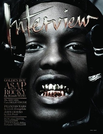 A$AP Rocky Covers Interview Magazine (April 2013) | A$AP Rocky | Scoop.it