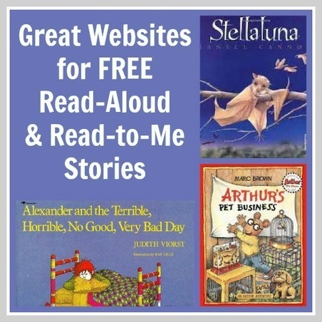 Great Websites for Read Aloud Books & Read to Me Stories | UDL Implementation | Scoop.it
