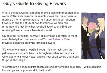 Hurry to Your College Station Florist! Flower Gift Cheat Sheet for Men | Nan's Blossom Shop | Scoop.it