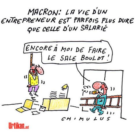 Macronade | Dessinateurs de presse | Scoop.it