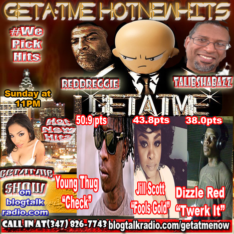 "GetAtMe3PcSnack HotNewHits ft Young Thug, Jill Scott & Dizzle Red.  Young Thug ""CHECK"" takes the top spot..... 