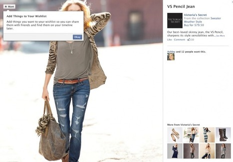 Le bouton Facebook Want, nouveau levier de f-commerce | Webmarketing, Medias Sociaux | Scoop.it