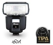 Nissin i60A Winner of the TIPA Awards 2016 'Best Portable Flash' - Latest Photography News   MINOX   Scoop.it