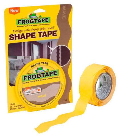 FrogTape® Shape Tape™ Painter's Tape | FrogTape.com | Avant-garde Art & Design | Scoop.it