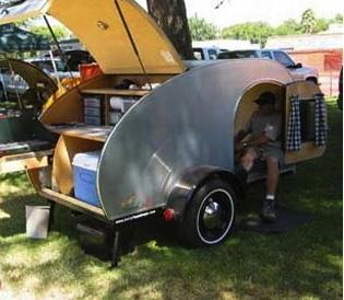 Light Camping Trailers- So-Cal Teardrop Camping Trailer | Teardrop trailer building | Scoop.it