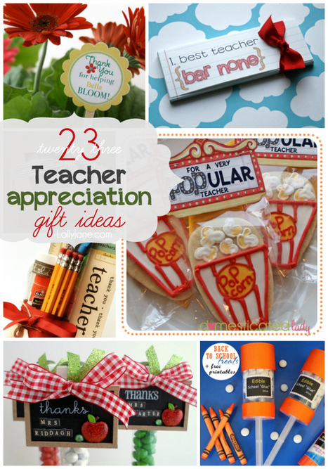 23 Teacher Appreciation gift ideas | Gift Ideas for Parents | Scoop.it