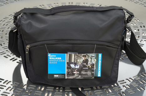 ThinkTank Photo CityWalker 10 shoulder camera bag hands-on review | Tripods, support, flters etc. | Scoop.it